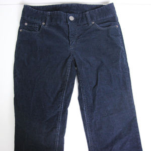 J. Crew Corduroy Pants Size 0s Blue Favorite Fit